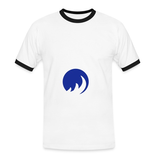 the flame - T-shirt contrasté Homme