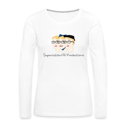 Supercat126HD Productions Longsleeve (Women's) - Women's Premium Longsleeve Shirt