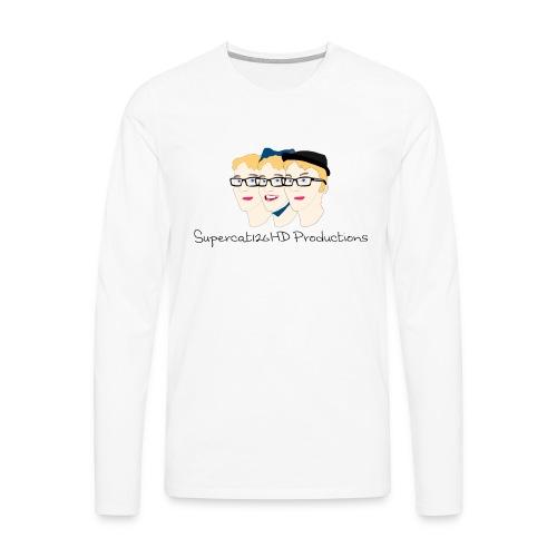 Supercat126HD Productions Longsleeve (Men's) - Men's Premium Longsleeve Shirt