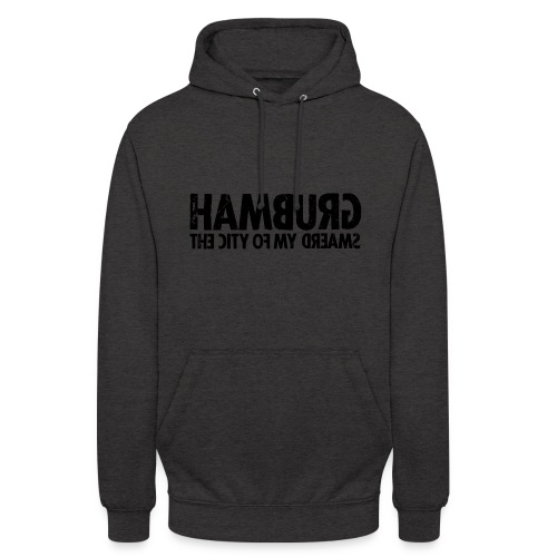 Hamburg (black oldstyle) - Unisex Hoodie