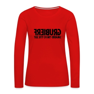 Freiburg (black oldstyle) - Frauen Premium Langarmshirt