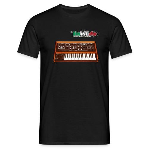 T-Shirt vari colori e taglie con logo Il Sintetista + immagine Spirit - Maglietta da uomo
