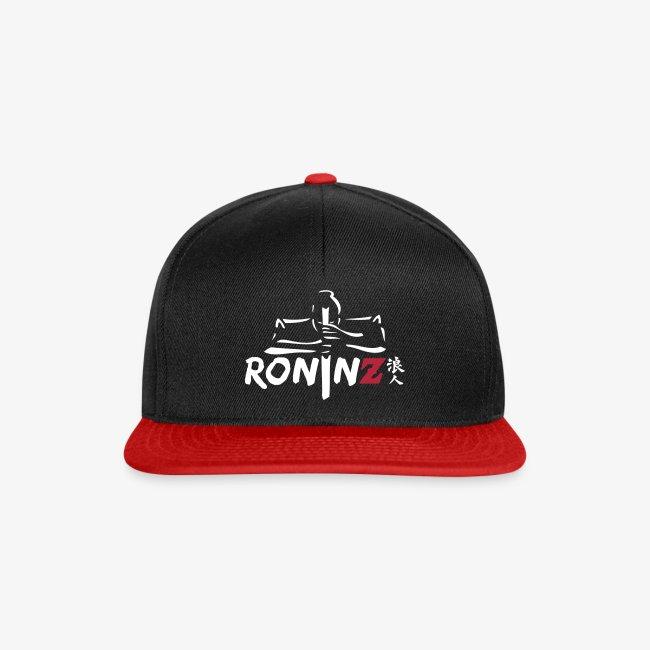 RoninZ Base Cap - black/red