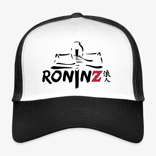 RoninZ Base Cap - white/black - Trucker Cap
