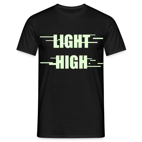 Glow In The Dark Light High Tee - Men's T-Shirt