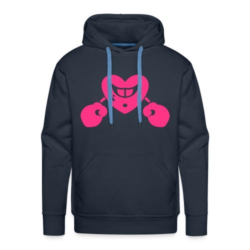 Neon pink - Men's Premium Hoodie