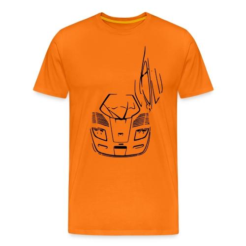 F1 GTR Longtail - Men's Premium T-Shirt