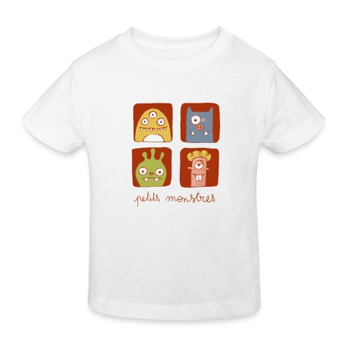 Petits monstres bio - T-shirt bio Enfant