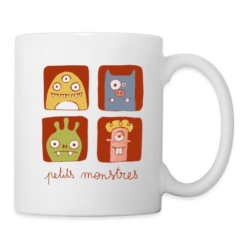 Mug Petits monstres - Mug blanc