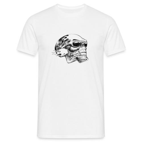 Wild Skull - T-shirt Homme