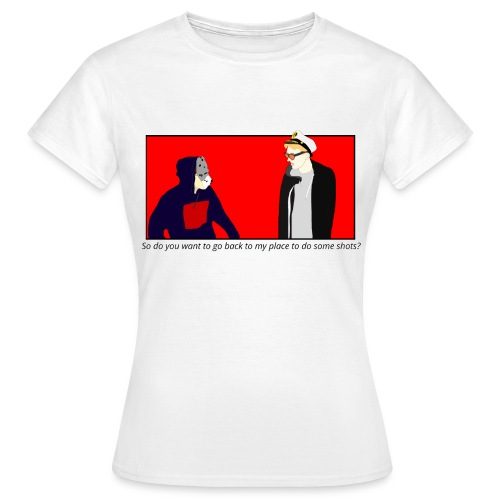 Captain Callum & Bear - Shots (Women's) - Women's T-Shirt