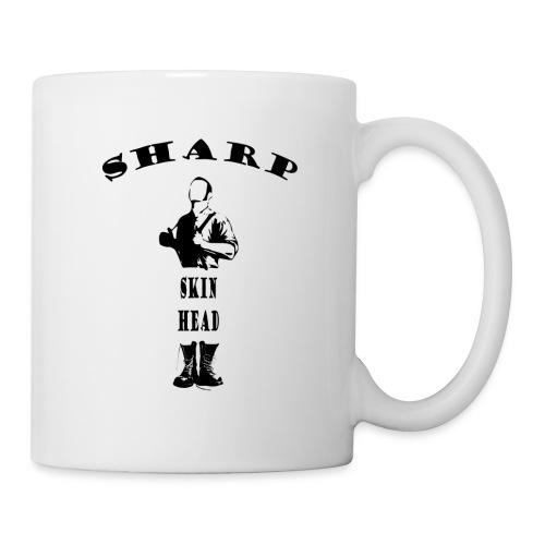 sharp skinhead mug - Mug