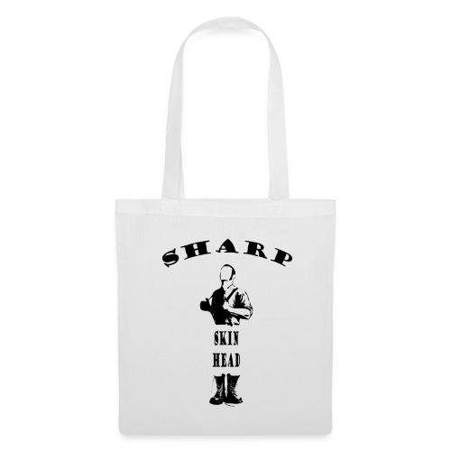sharp skinhead tote bag - Tote Bag