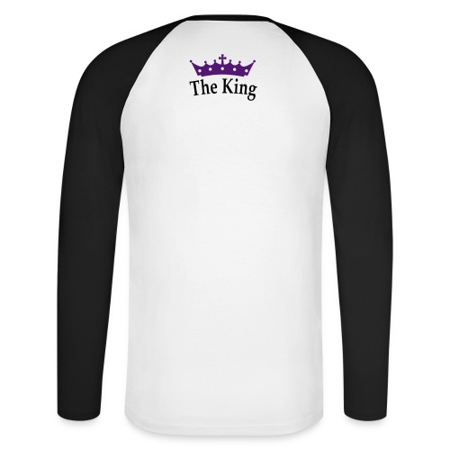T-shirt The king - T-shirt baseball manches longues Homme