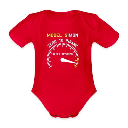 Simon - From Zero To Insane - Baby Bio-Kurzarm-Body