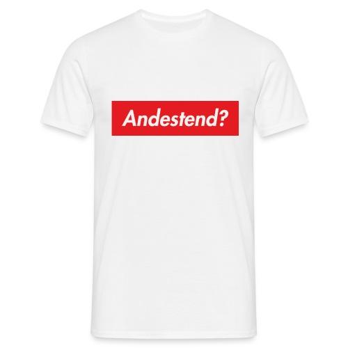 Andestend - Maglietta da uomo