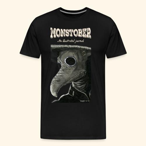 1. Plague Doctor shirt - Mannen Premium T-shirt
