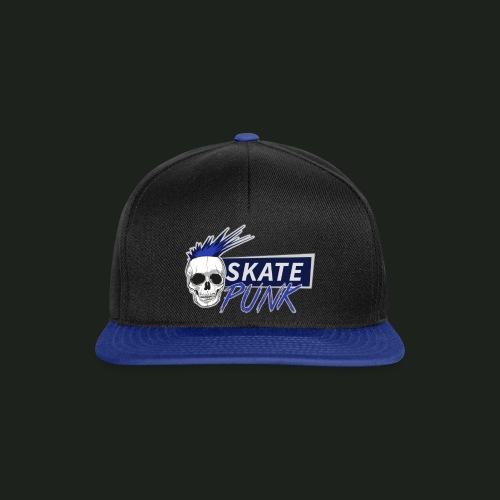 SkatePunk Logo Snapback - Snapback Cap
