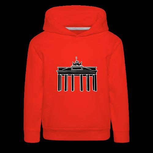 Brandenburger Tor Berlin 2 - Kinder Premium Hoodie