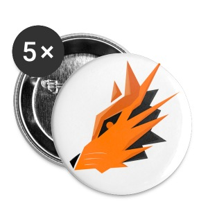 Pin's - EvilFox - Badge moyen 32 mm