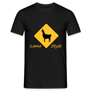 Lama Style std1 - T-shirt Homme