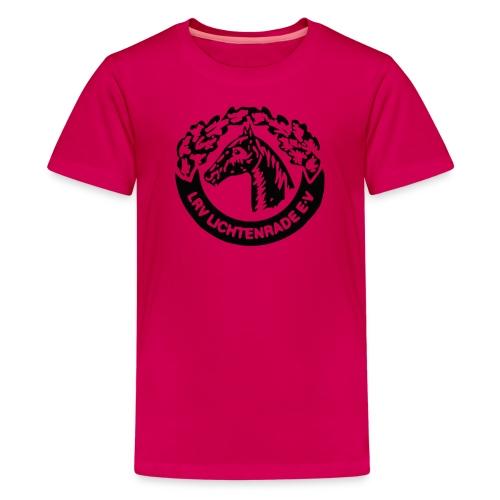 Jugendliche-Unisex-Shirt mit LRV-Logo - Teenager Premium T-Shirt