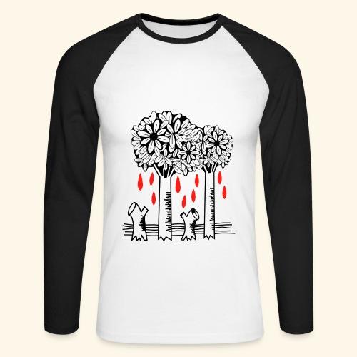 Los árboles lloran - Raglán manga larga hombre