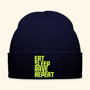 Eat Sleep Rave Repeat Winter Hat Rave Collection - Winter Hat