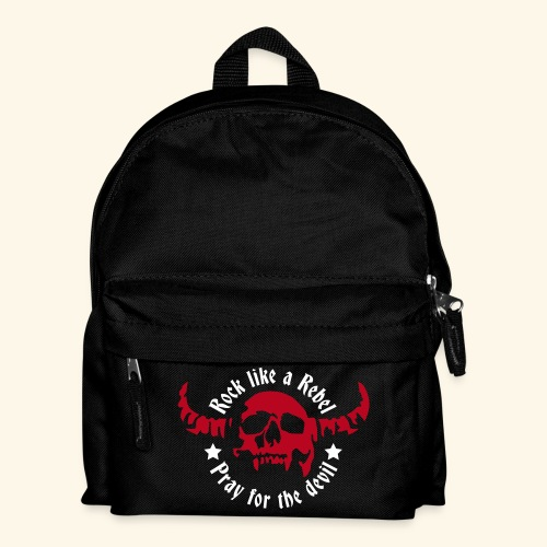 Kids' Backpack Rock & Devil Collection - Kids' Backpack