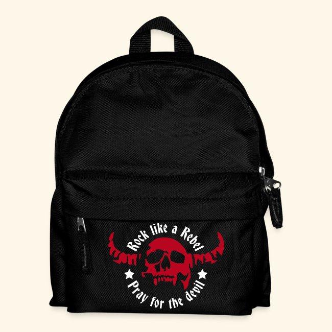 Kids' Backpack Rock & Devil Collection