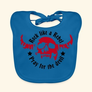 Baby Organic Bib Rock & Devil Collection  - Baby Organic Bib