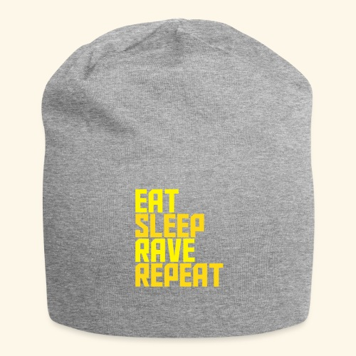 Eat Sleep Rave Repeat Winter Hat Rave Collection - Jersey Beanie