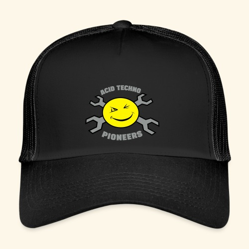 Acid Techno Pioneers Trucker Cap Retro - Trucker Cap