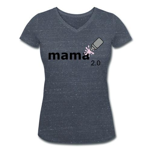 Mama 2.0 - Frauen Bio-T-Shirt mit V-Ausschnitt von Stanley & Stella
