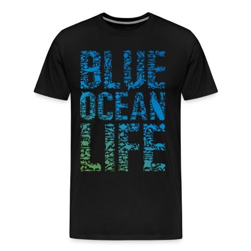 Blue Ocean - Männer Premium T-Shirt