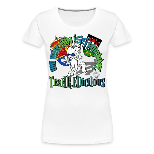 LADY ED - Frauen Premium T-Shirt