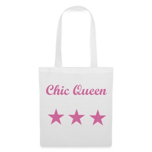 Chic Queen Bag - Borsa di stoffa