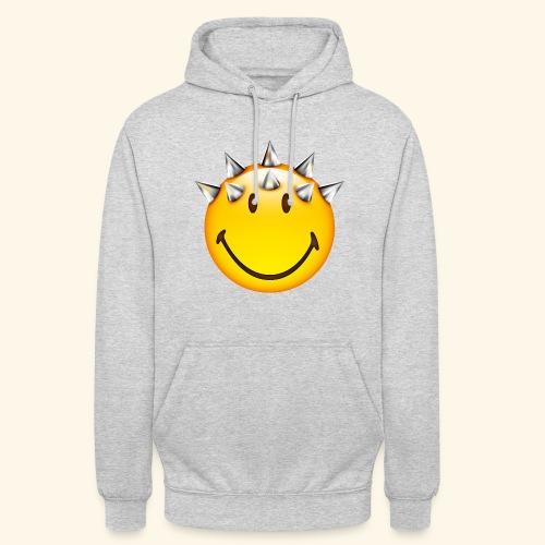 Smiley Punk Hoodie Unisex  - Unisex Hoodie
