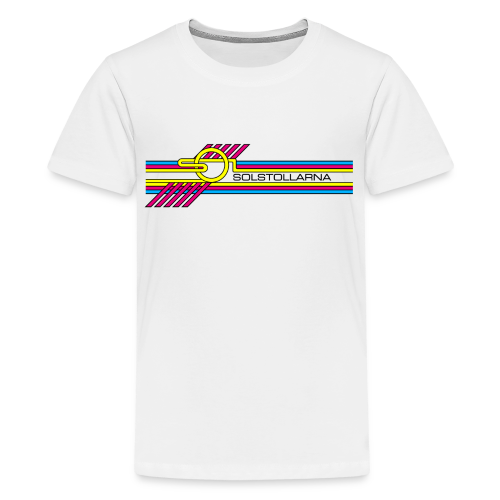 T-shirt tonåring Premium, Solstollarna - Premium-T-shirt tonåring