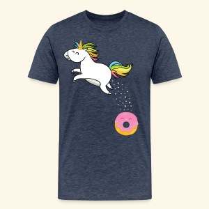 Battle of the donut - T-shirt Premium Homme