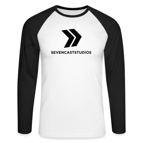 SCS Sweatshirt - Männer Baseballshirt langarm