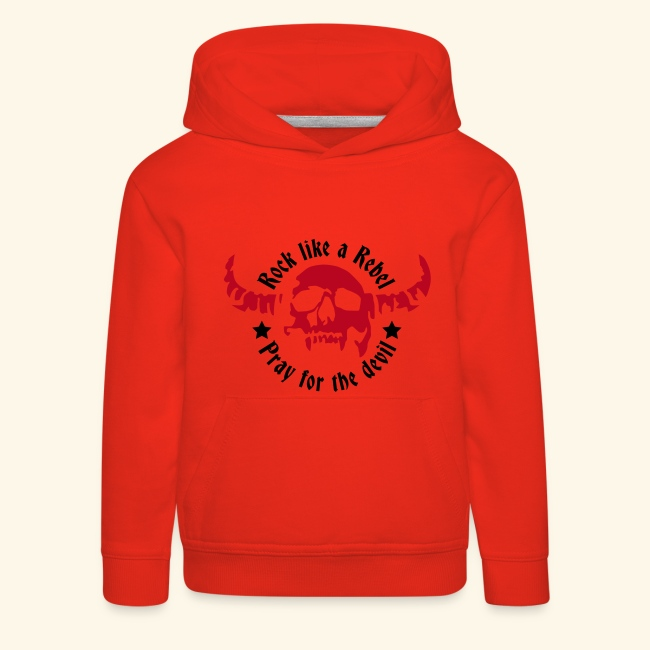 Kids' Premium Hoodie Rock & Devil Collection 3 to 14 years