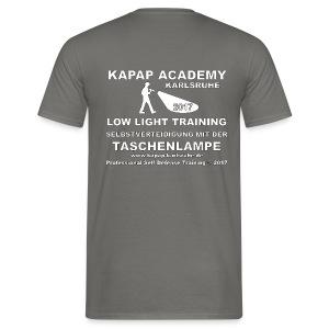 KAPAP Academy Karlsruhe LowLight Advanced Training 2017 T-Shirt - Männer T-Shirt