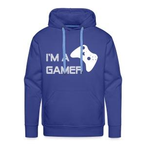 Im a Gamer Xbox - Hoodie - Men's Premium Hoodie