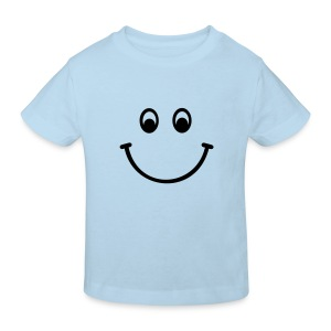 Smiley - Kinder Bio T Shirt - Kinder Bio-T-Shirt