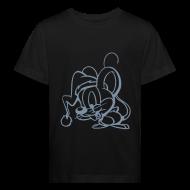 T-Shirts ~ Kinder Bio-T-Shirt ~ Maus (silber) - Kinder Bio T Shirt