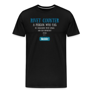 Rivet Counter - Men's Premium T-Shirt