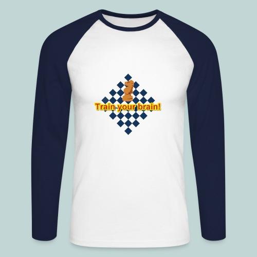 Brain Springer 1 - Männer Baseballshirt langarm