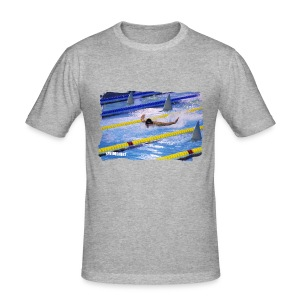FLY FISHING SLIM - Men's Slim Fit T-Shirt