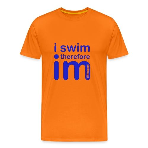 I.M. SWIMMER CLASSIC - Men's Premium T-Shirt